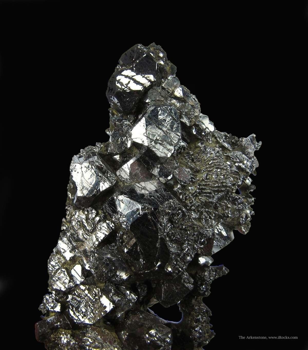 In crystalline form Sperrylite world s great platinum minerals
