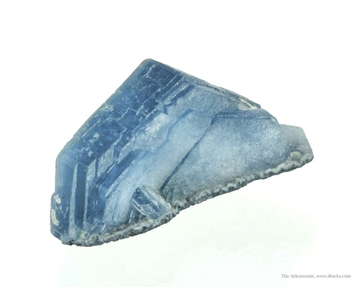 An exceptional specimen rich color thick crystal Perched crust matrix