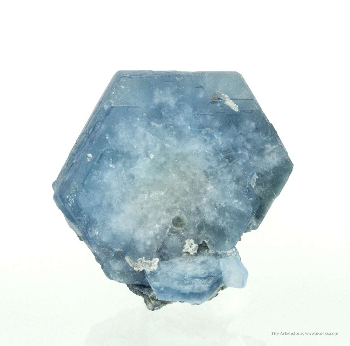 This dramatic crystal large tabular doubly terminated lustrous