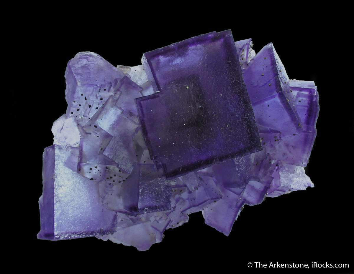 This course classic style gemmy purple phantomed fluorite location