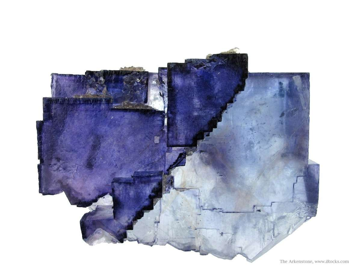 Engaging architectural dramatic Fluorite specimen generations growth