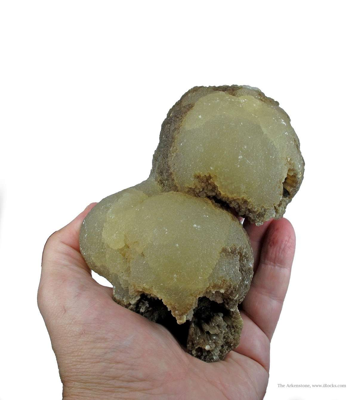 This HUGE witherite specimen Illinois It composed superb highly