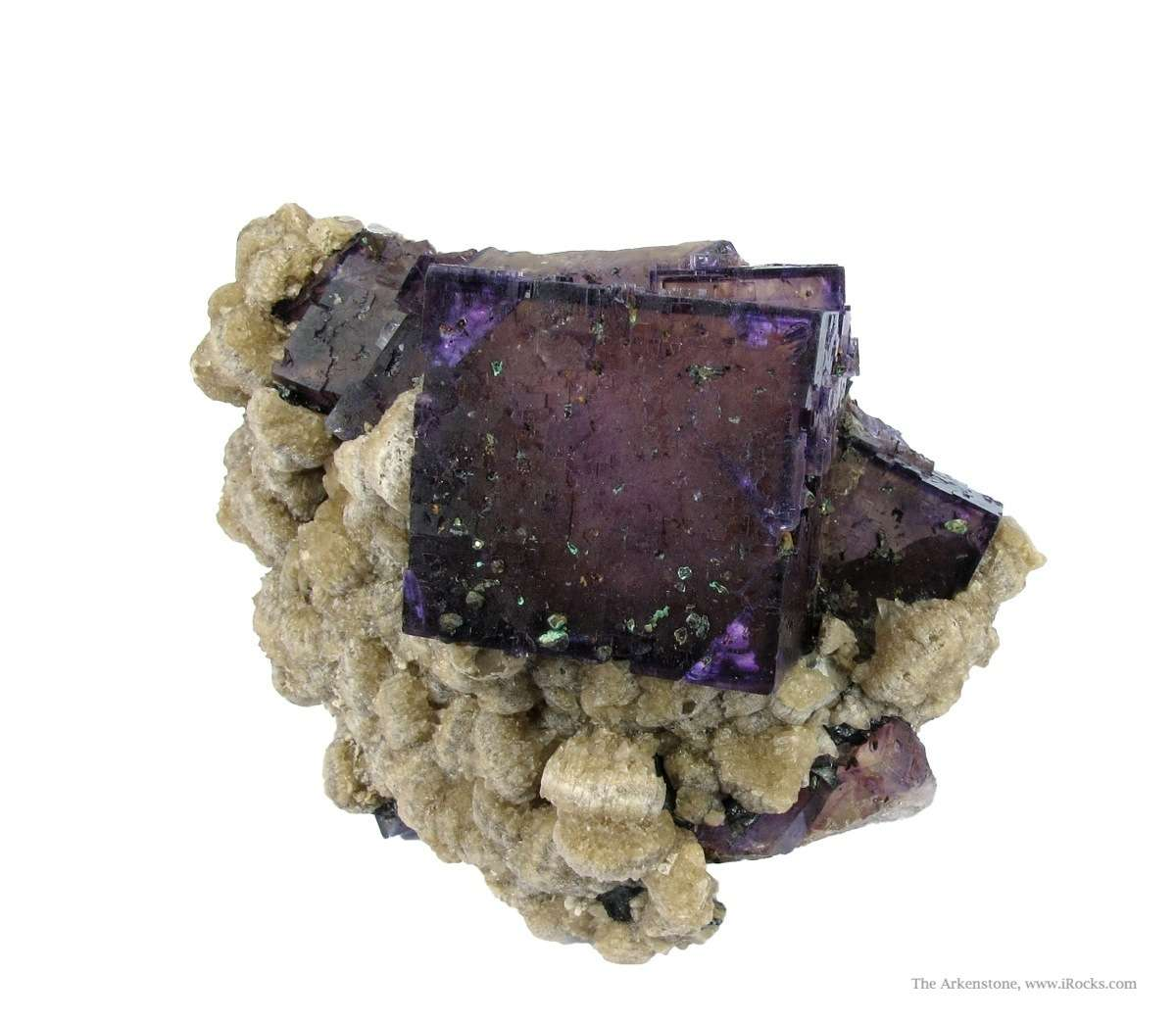 This piece special significance rare example good fluorite old section