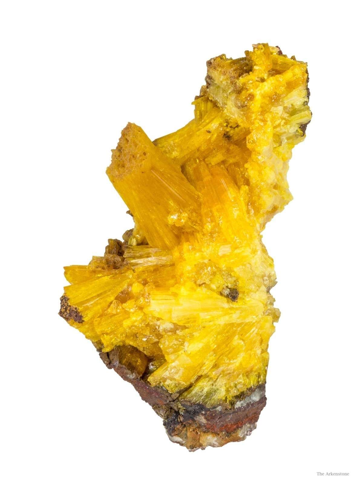 Legrandite collected early 1980s quality flooded levels Ojuela Mine