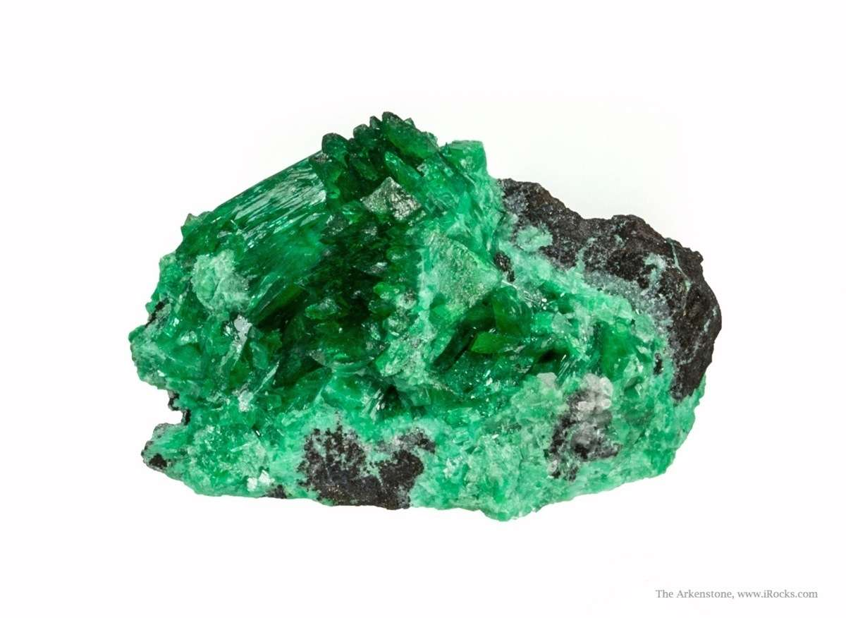This special variety intense saturated green adamite came pocket