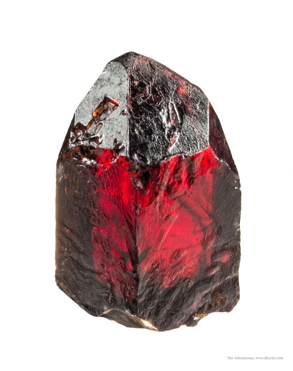 red zircon crystals dating