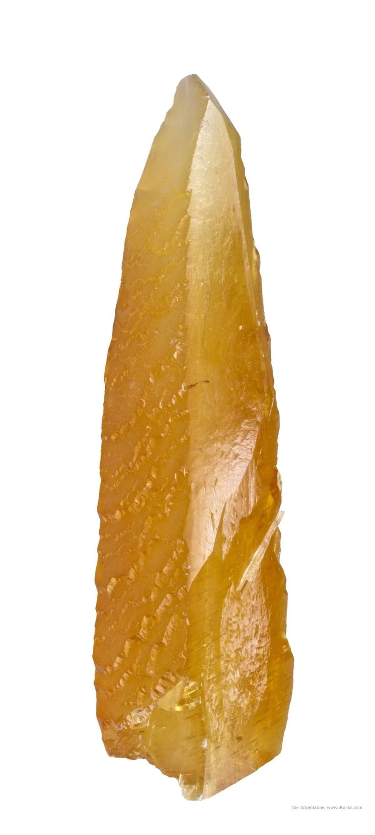 These surreal elongated glowing golden crystals stalactites 2008