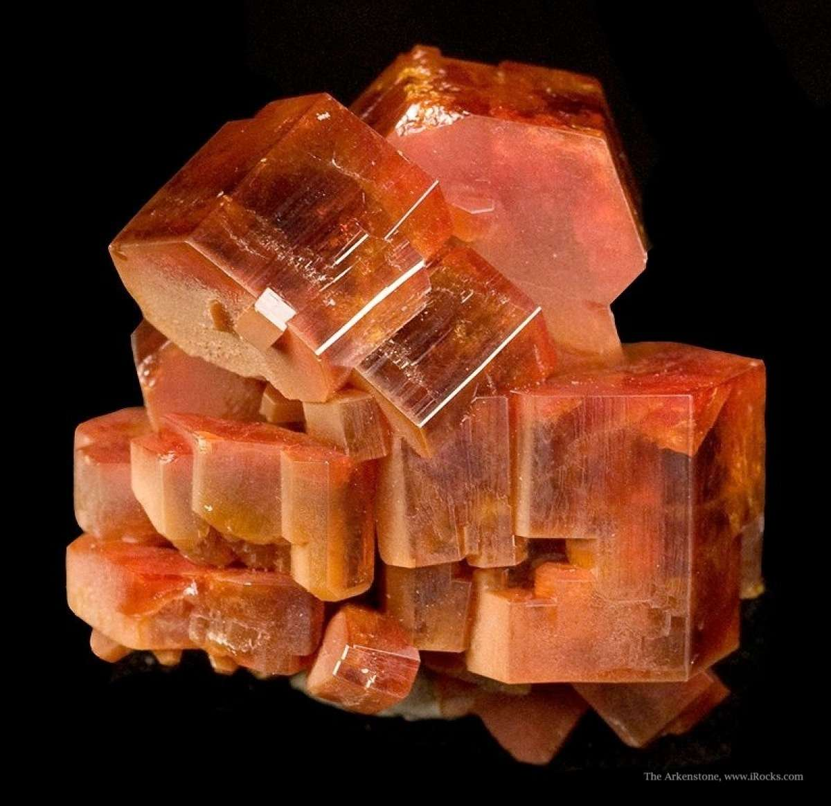 From 2009 noted thick robust crystals sharp specimen crystals 2 cm The