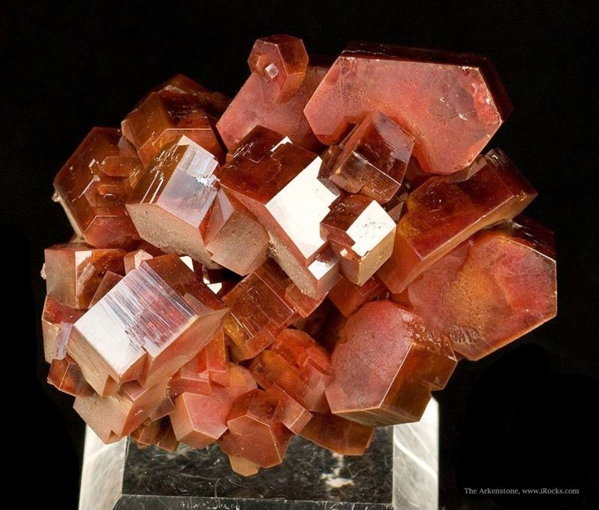 From 2009 noted thick robust crystals sharp specimen crystals 2 0 cm