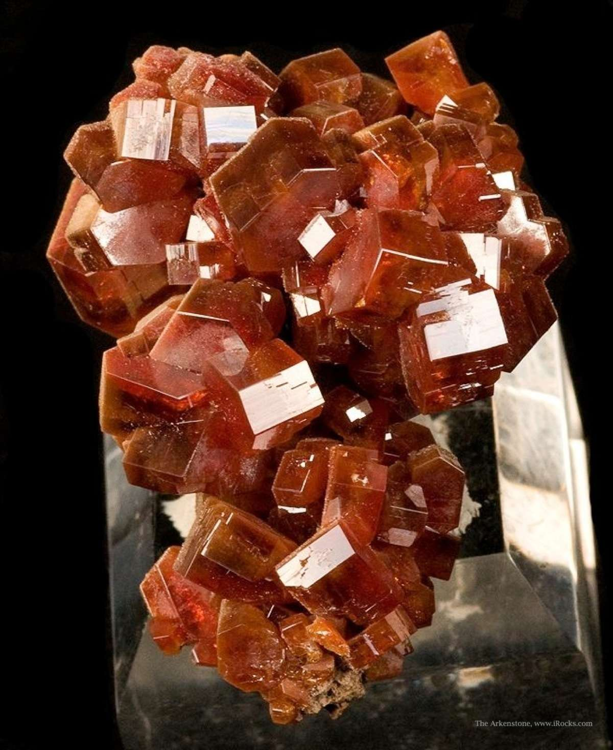 From 2009 noted thick robust crystal sharp aesthetic specimen crystals