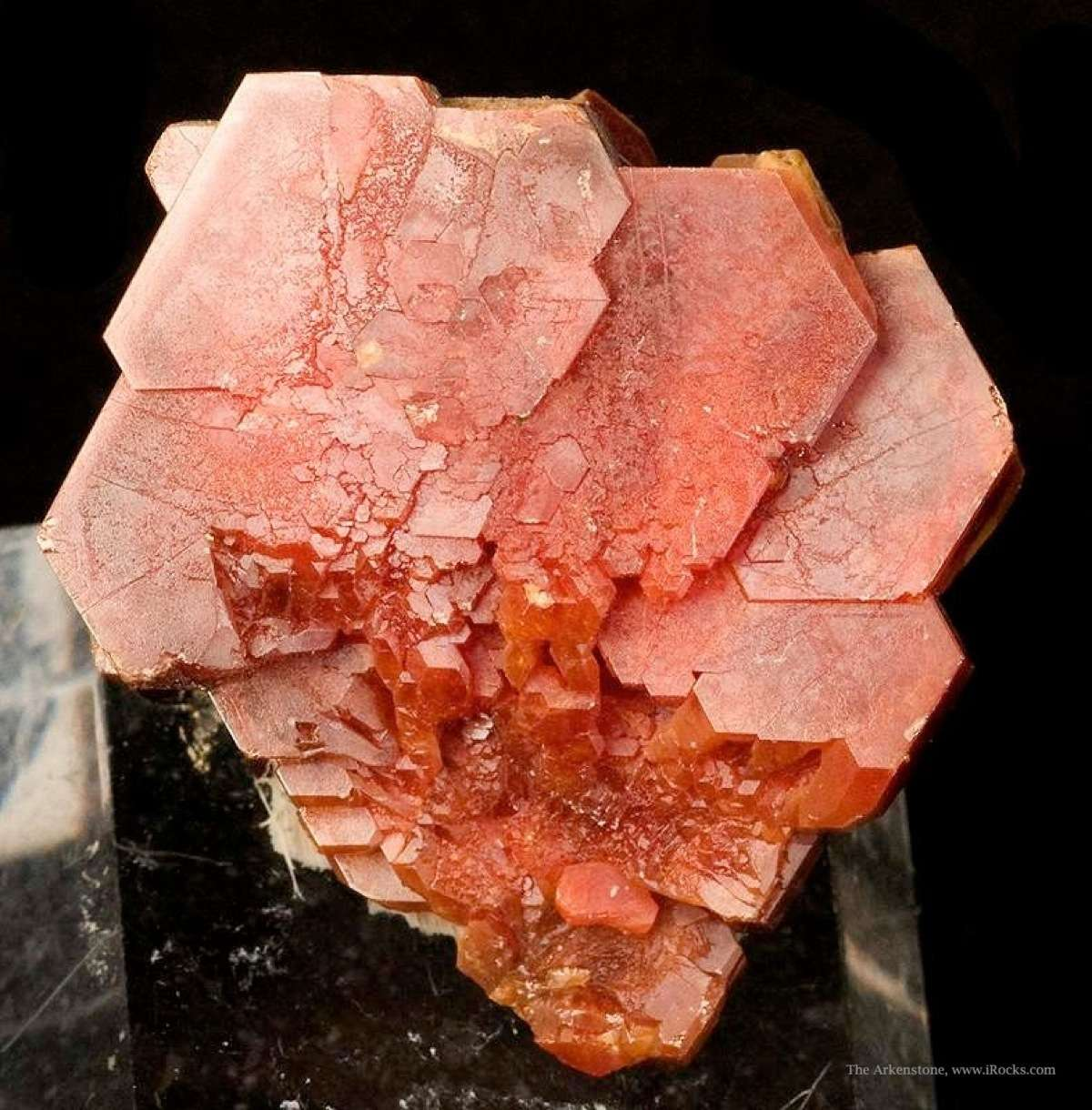 From 2009 noted thick robust crystals The dominant large crystal