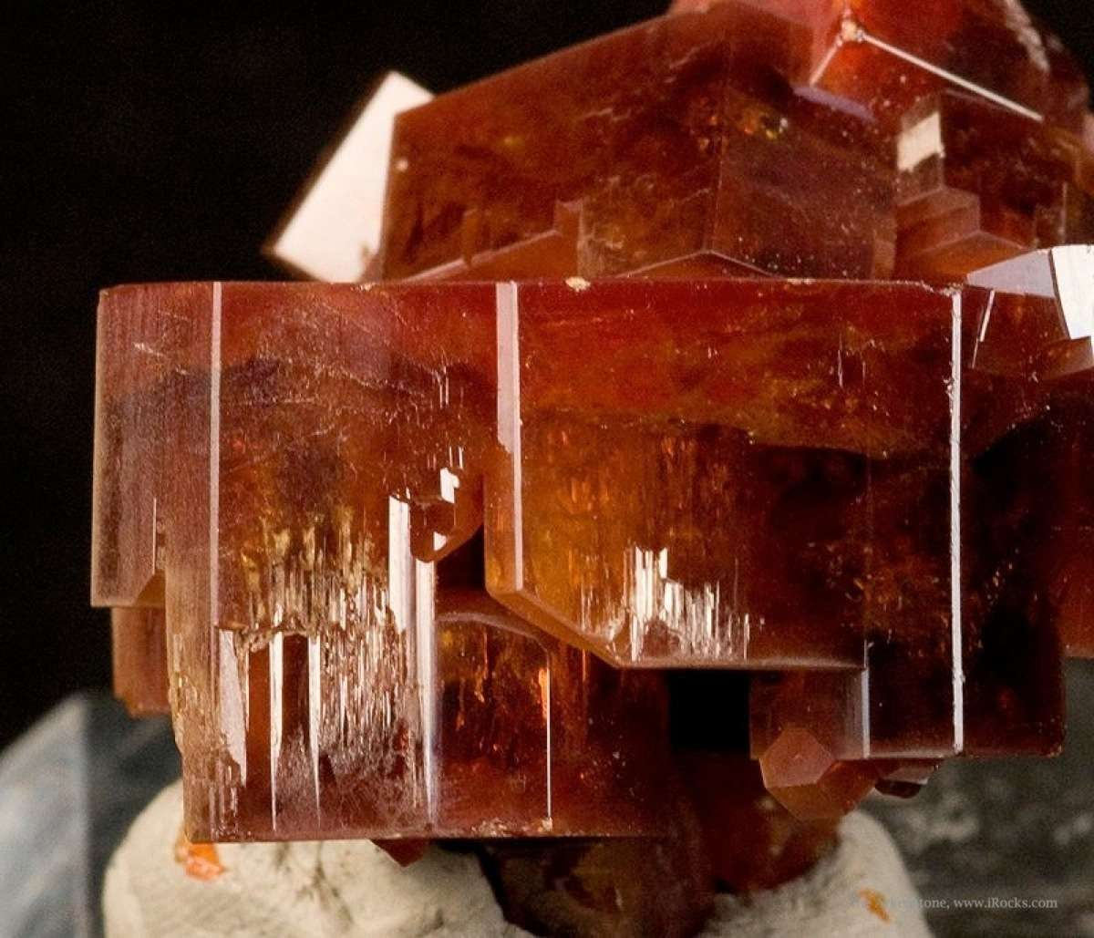 From 2009 noted thick robust crystals tabular specimen crystals 2 1 cm