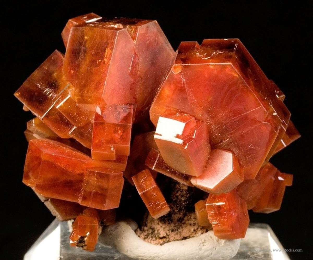 From 2009 noted thick robust crystals sharp aesthetic specimen