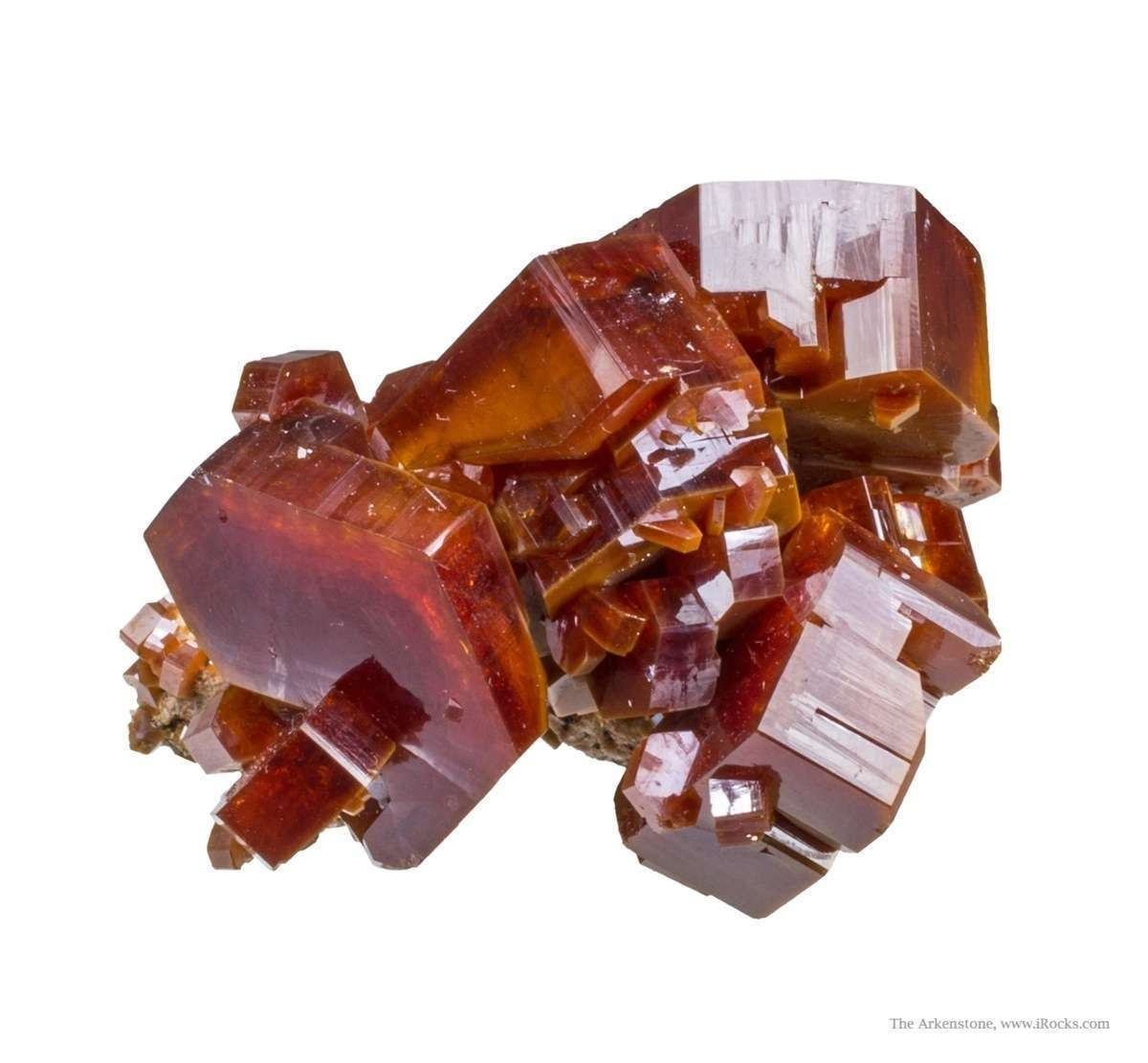 From 2009 noted thick robust crystals This incredible piece thick main