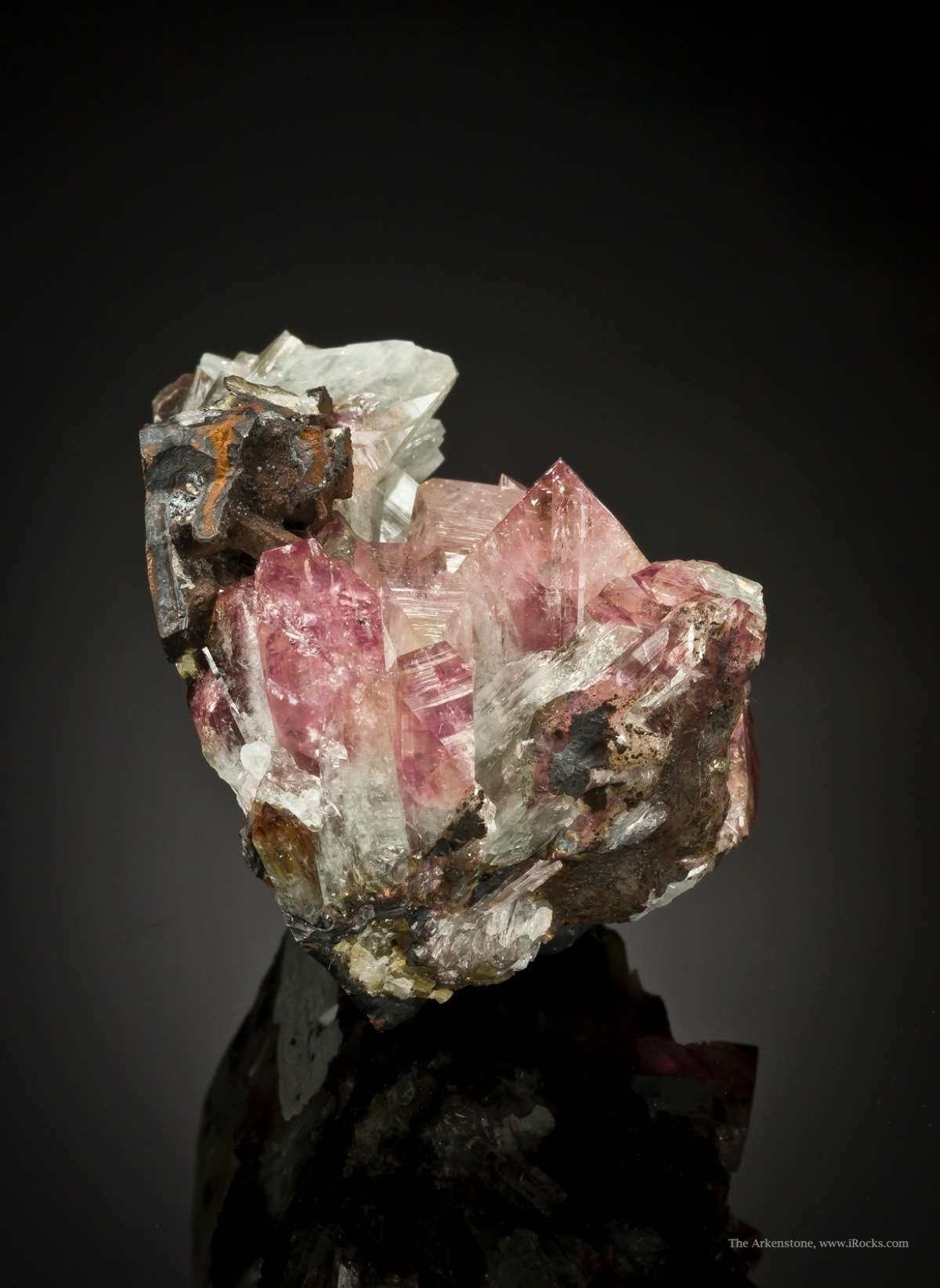 In 1980 wonderful manganoan adamite Mina Ojuela initially mislabelled