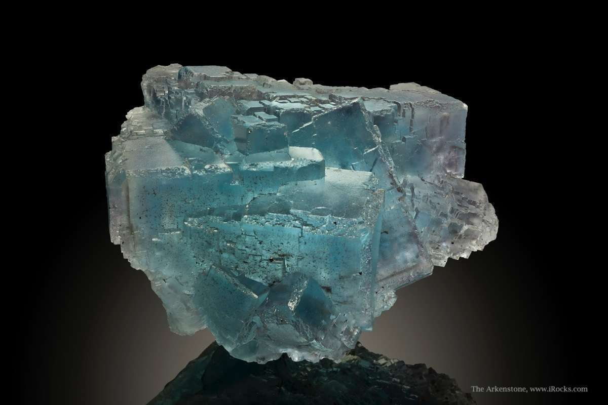 This single compound fluorite crystal 5 pounds weight remarkably