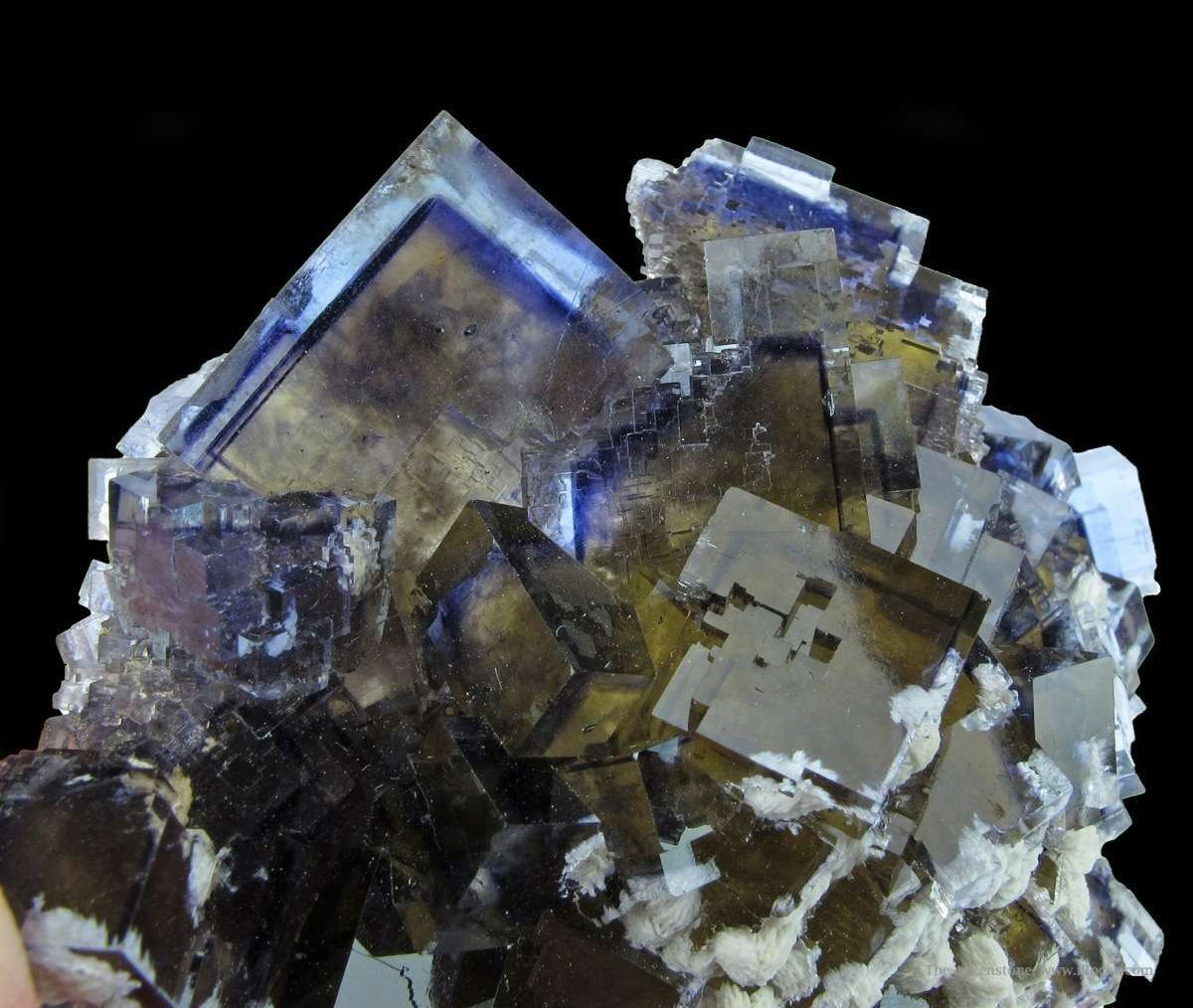 One attractive desired characteristics Minerva Fluorites uncommon