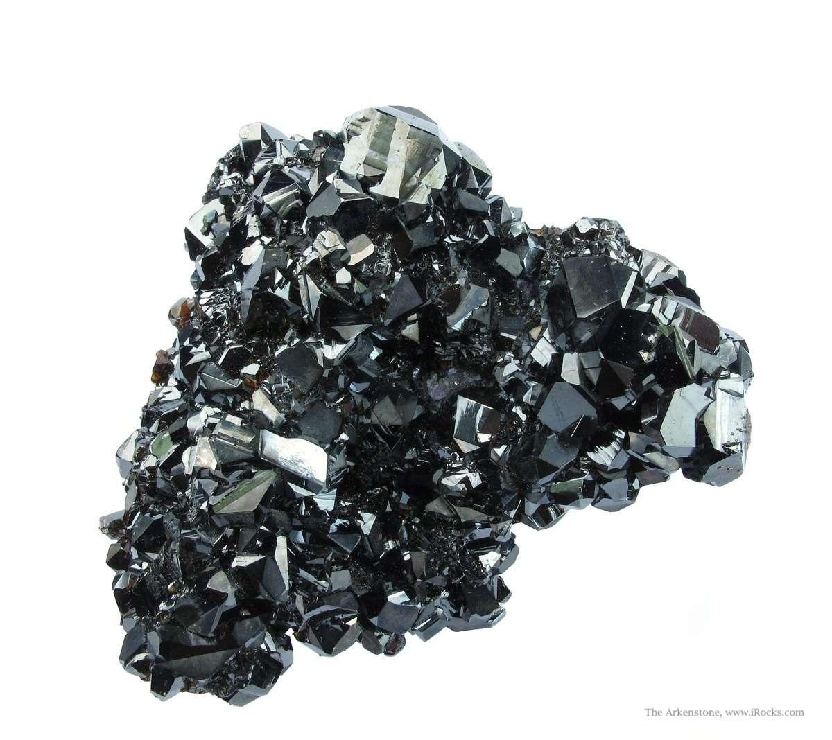 Very rich specimen lustrous Ruby Jack Sphalerite etched Fluorite The