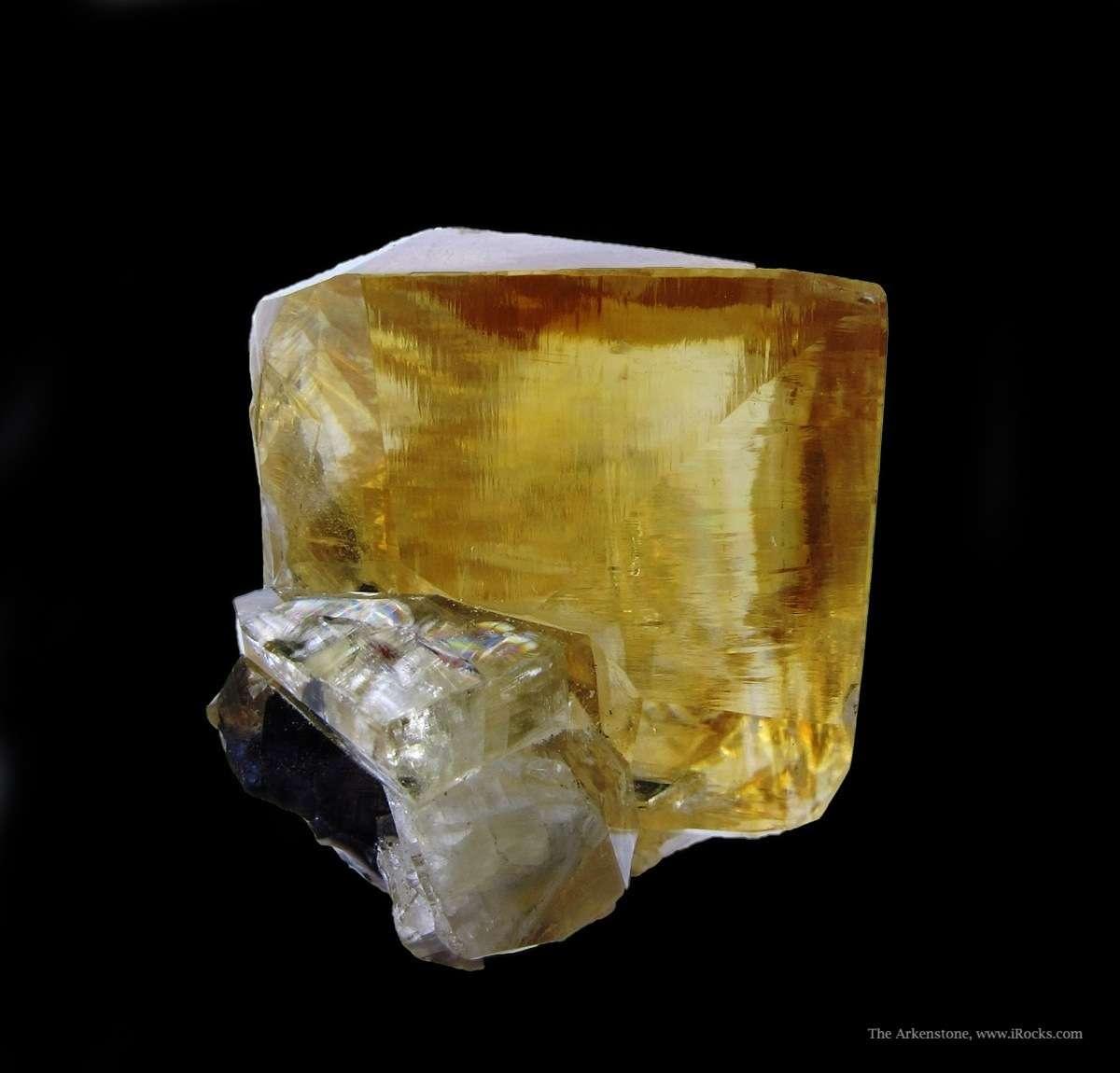 Terrific little Calcite gem mined Denton Mine 1984 The rich amber