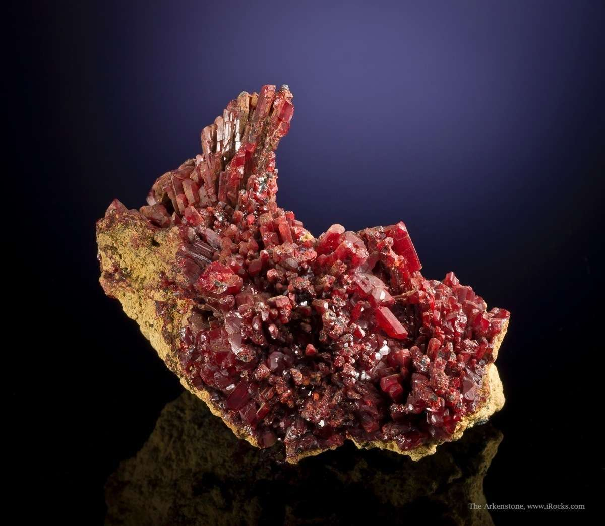 A attractive rich old time Realgar classic deposit In aesthetic large