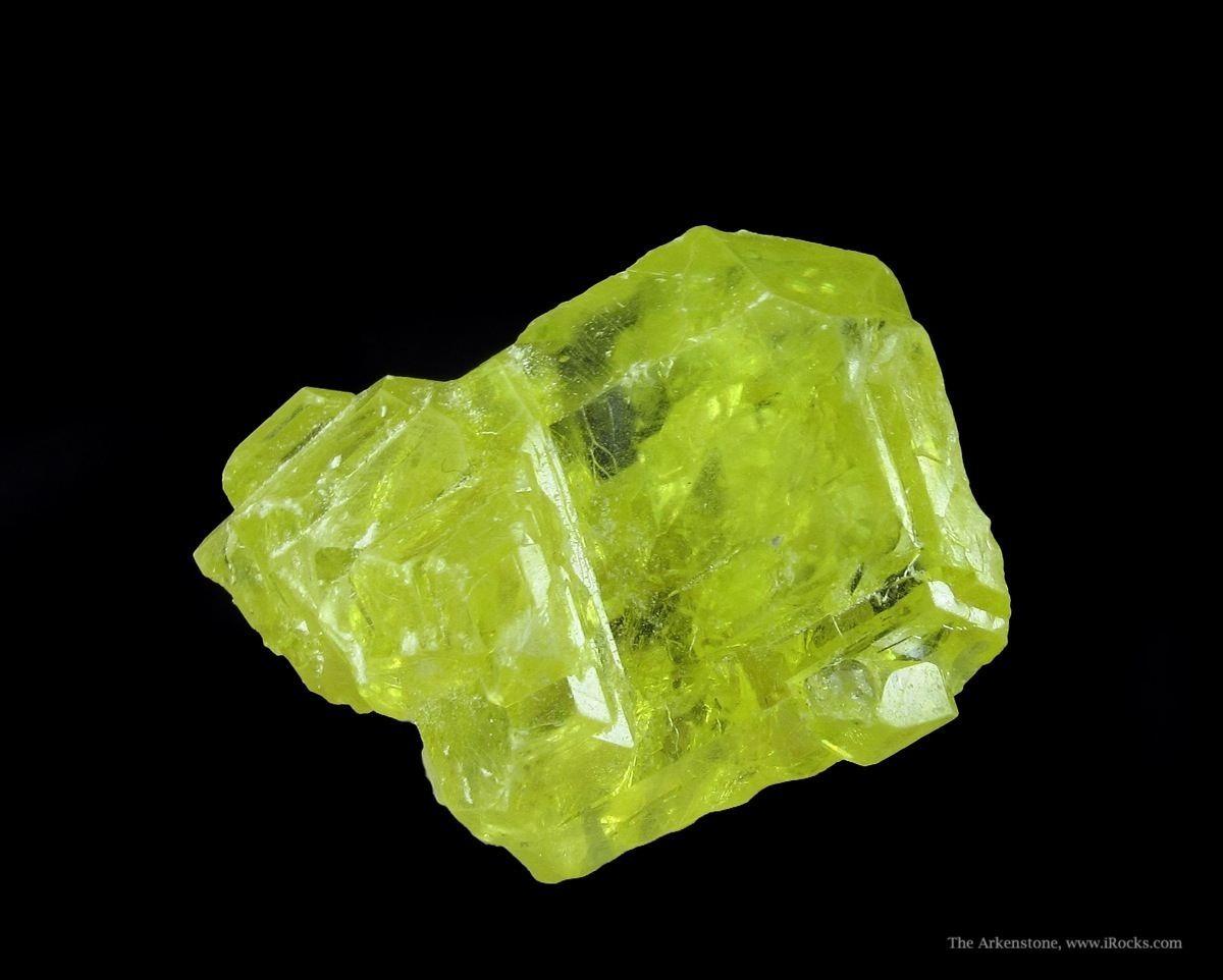 Radiant best way excellent gemmy cluster Sulfur crystals From coal