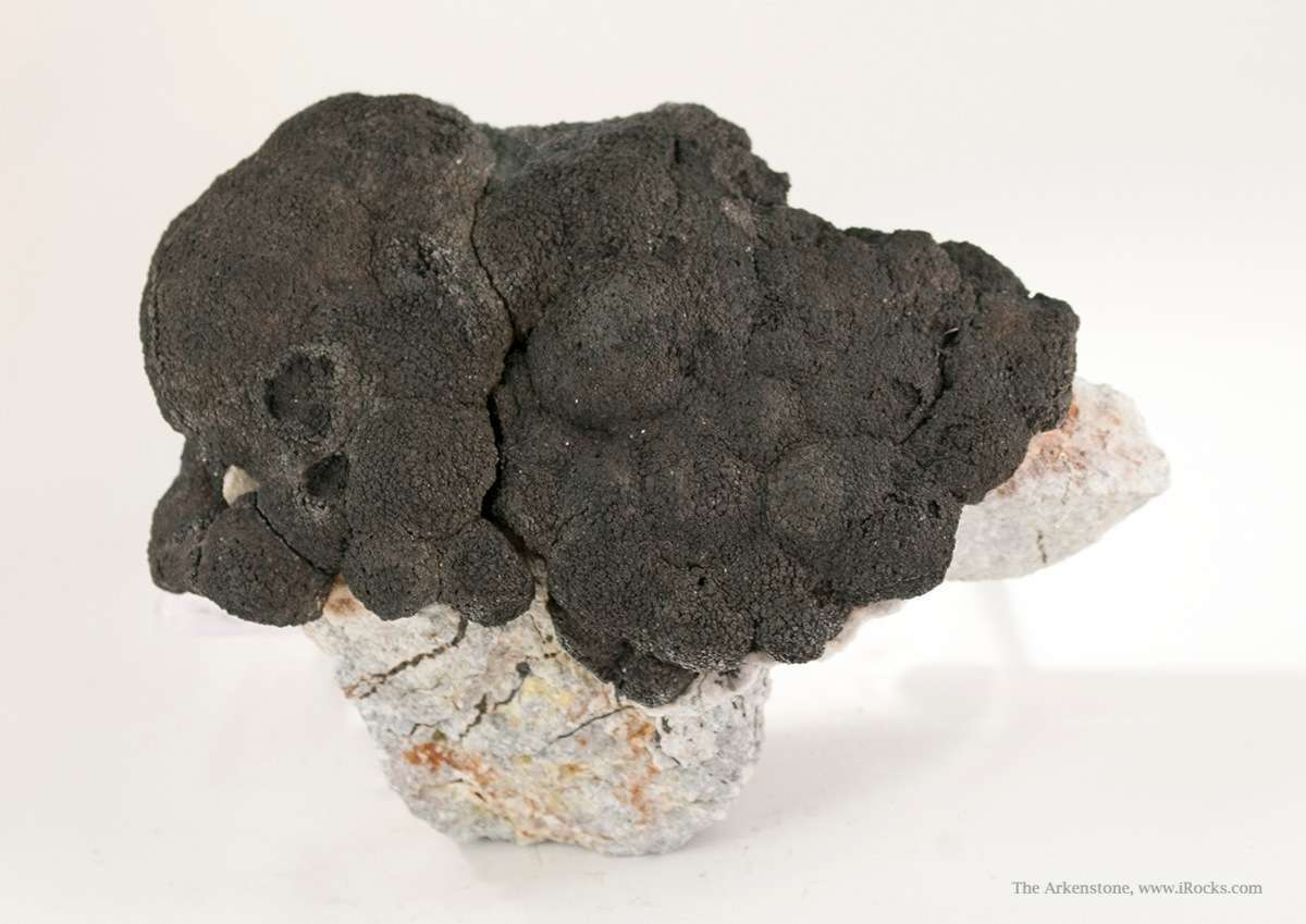 A fine 3 dimensional specimen featuring thick cluster botryoidal
