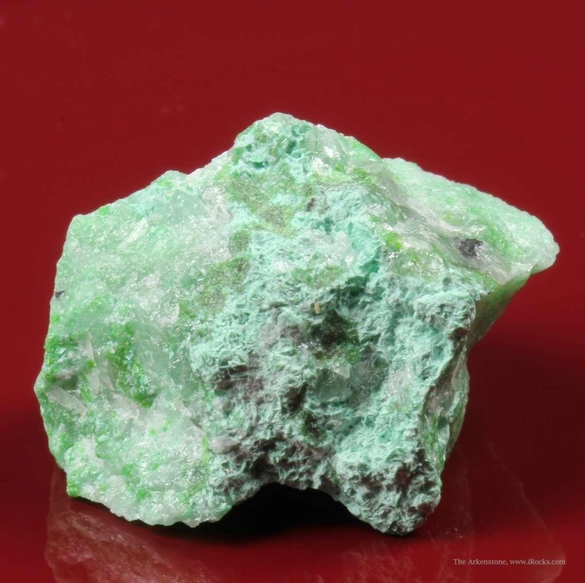 Very rare Tsumeb mineral An attractive rich specimen comprised tabular