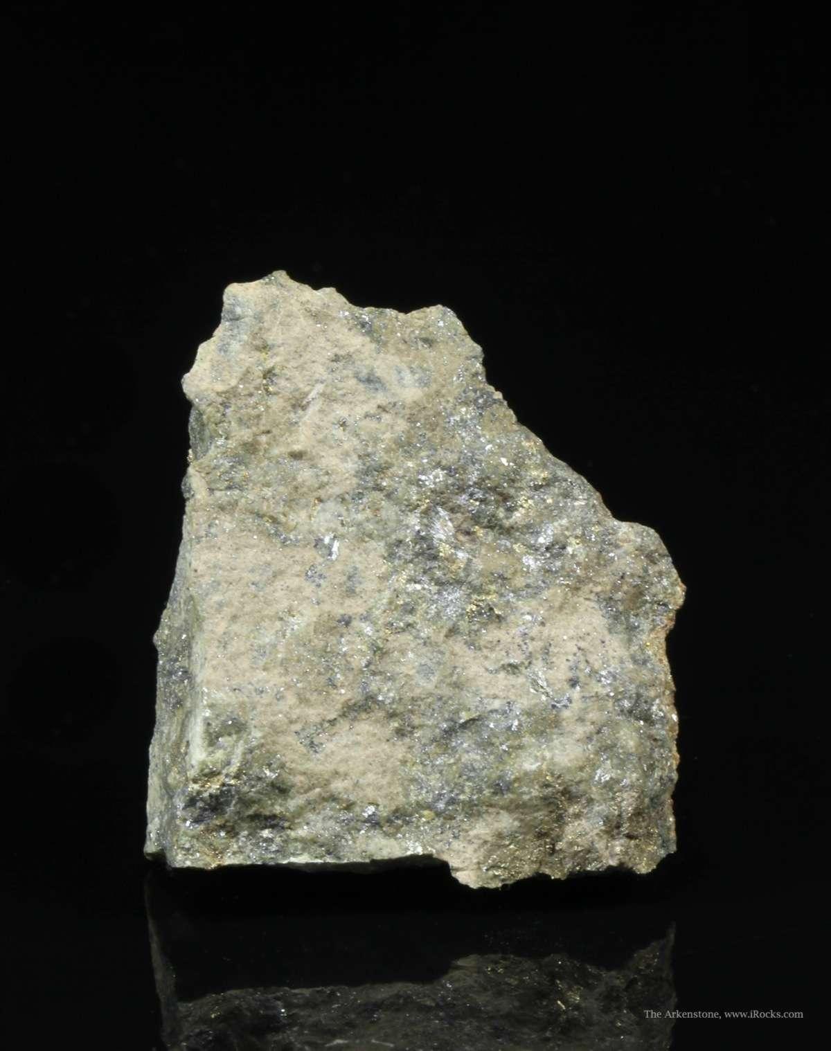 A rare silver lead bismuth sulfide The bright metallic luster abundant