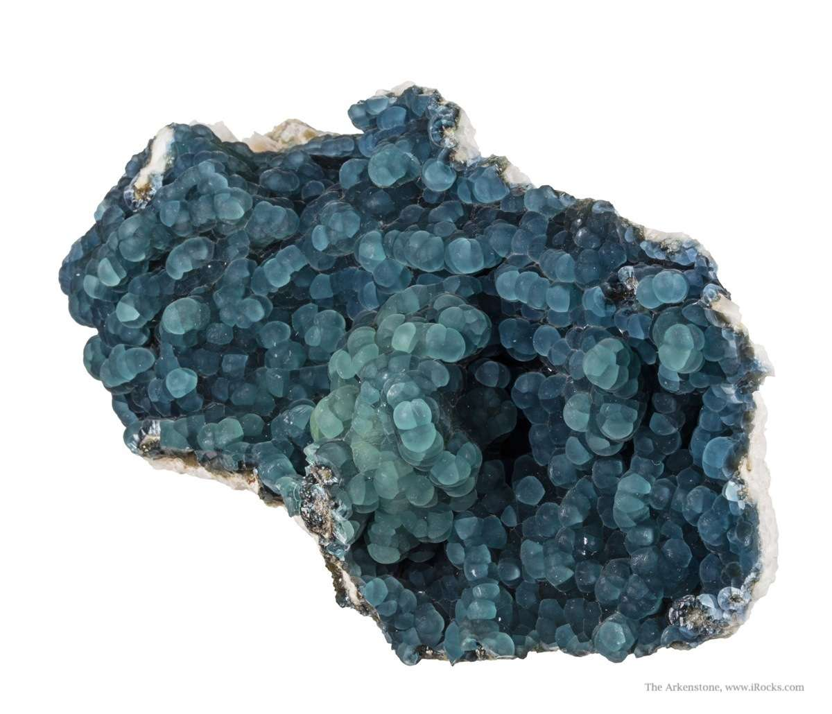 A gorgeous large plate rolling botryoidal plumbogummite high quality