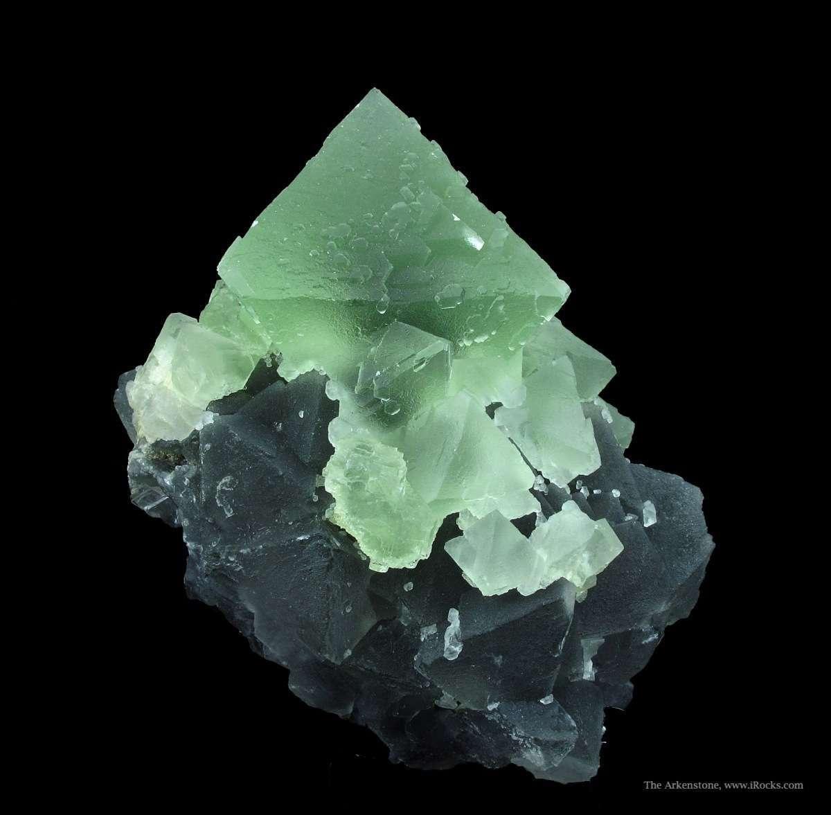 Fluorite on Fluorite - SOREG15-43 - Xianghualing Mine ... Minerals