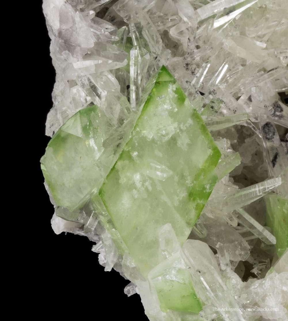 This specimen features phenomenal inch plus augelite matrix standing