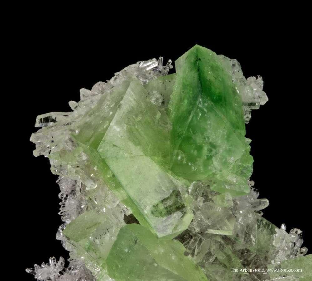 This cute sparkly miniature matrix specimen studded glassy gemmy