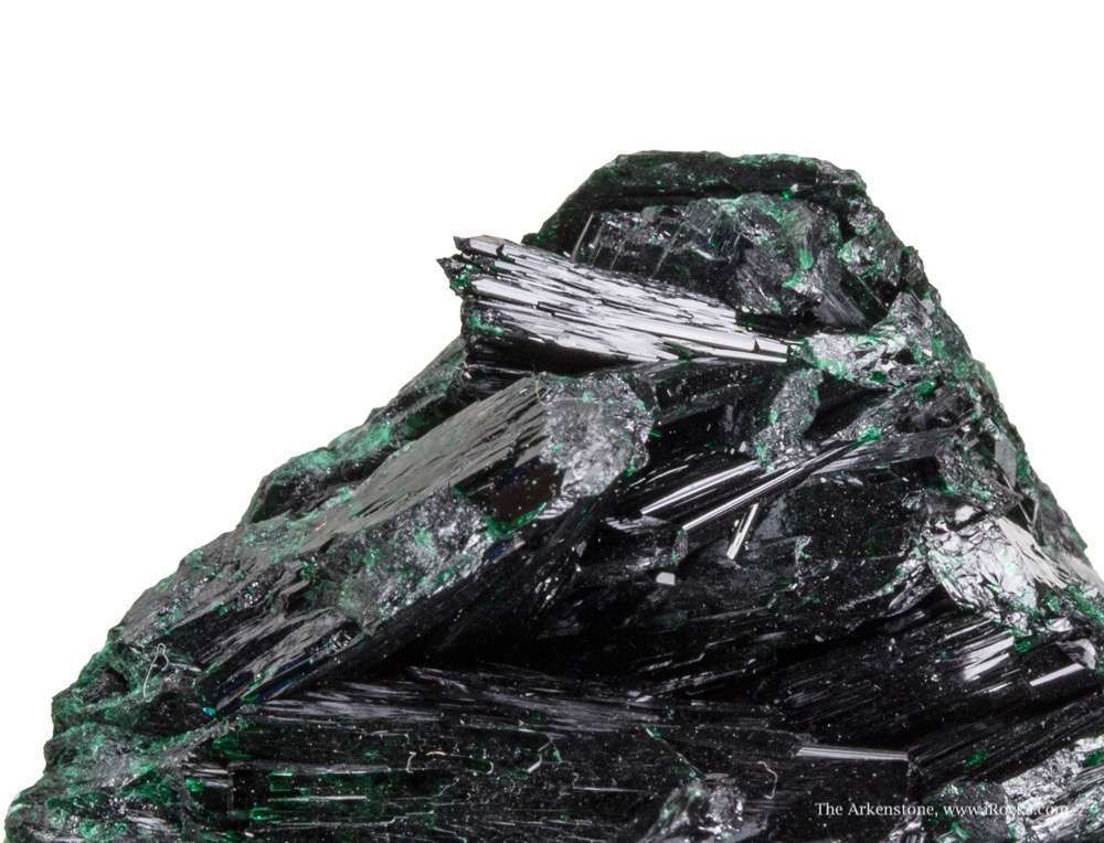 This richest specimens I know large crystals came It intense green