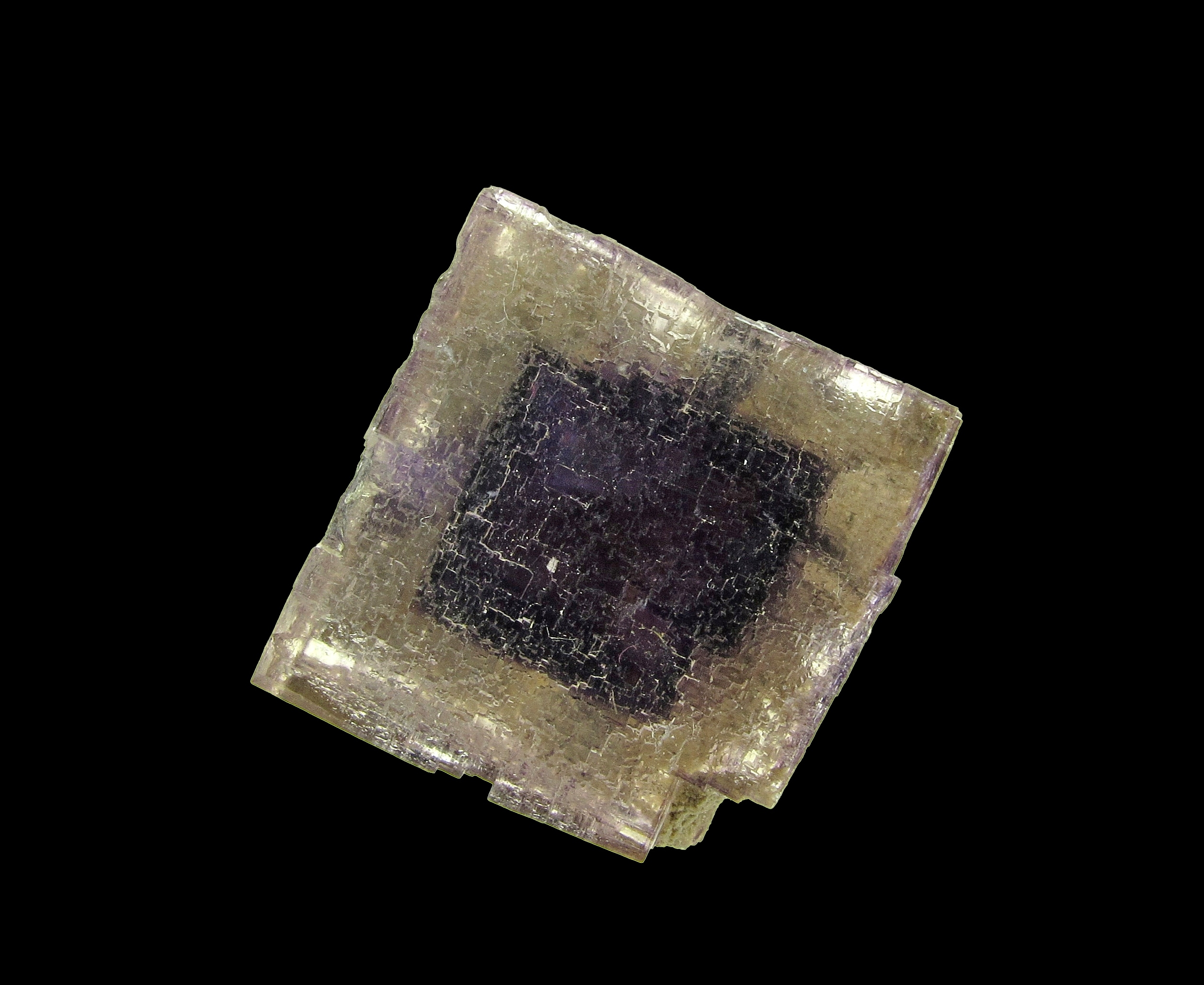 The Auglaize Quarry Ohio remowned zoned Fluorites robust large crystal