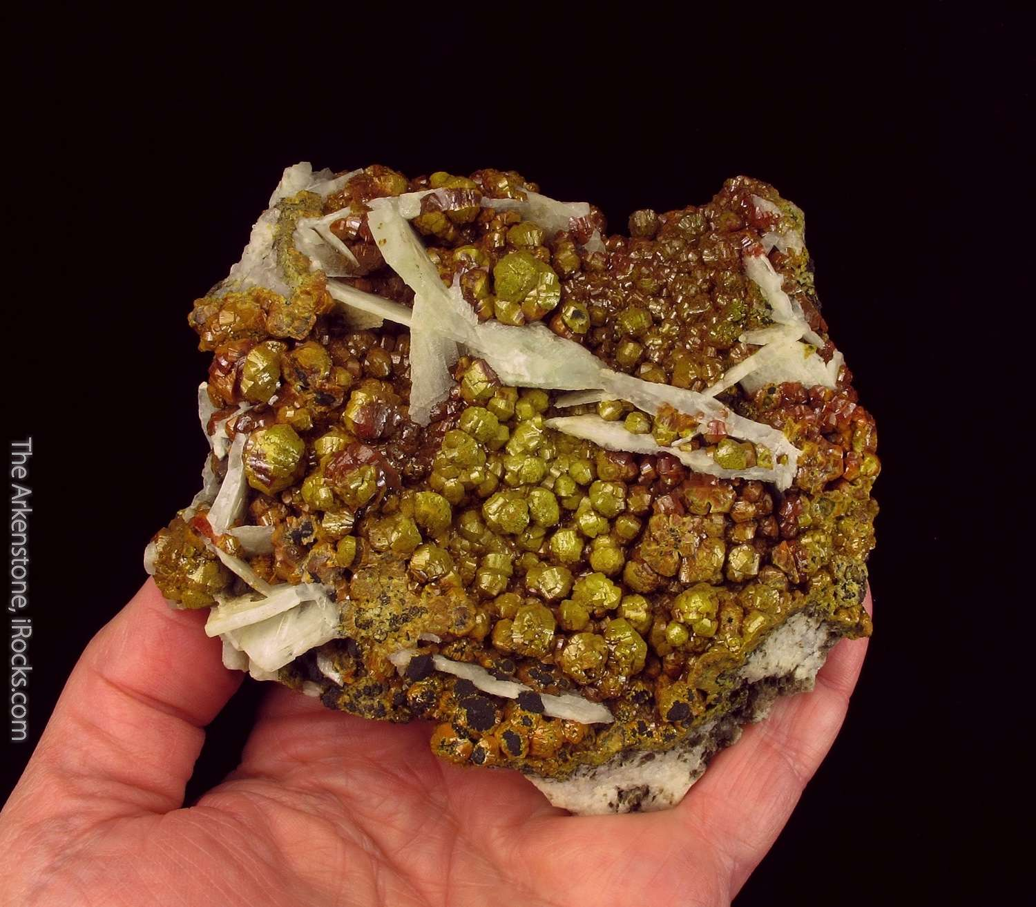 A superb LARGE example classic Mimetite variety known mid 1800 s local