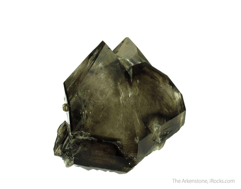 A big gorgeous complex crystal Smoky Quartz Brazil The faces superb