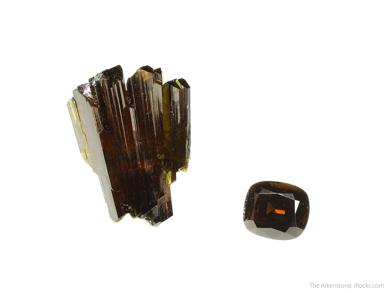 2 1 x 1 6 x 0 8 cm Specimen 4 35 carats 10 11 mm x 8 70 mm Gem Epidote
