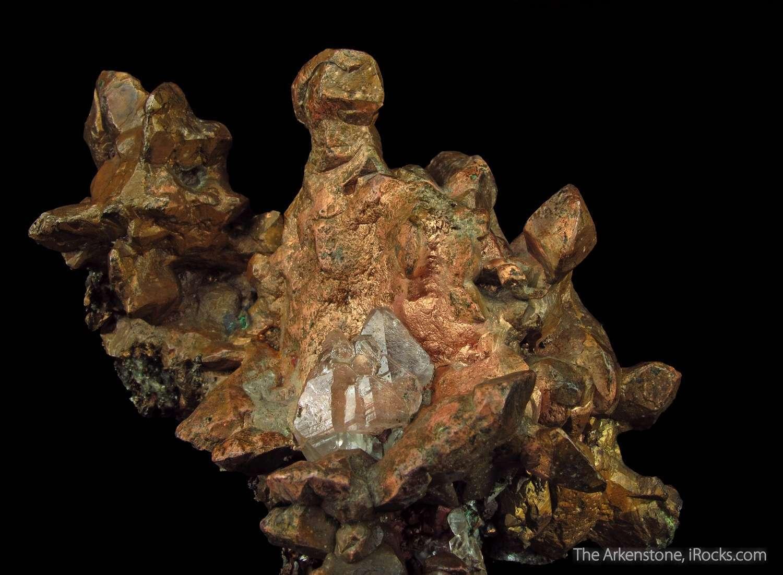 This fantastic copper specimen heft aesthetics dramatic display As