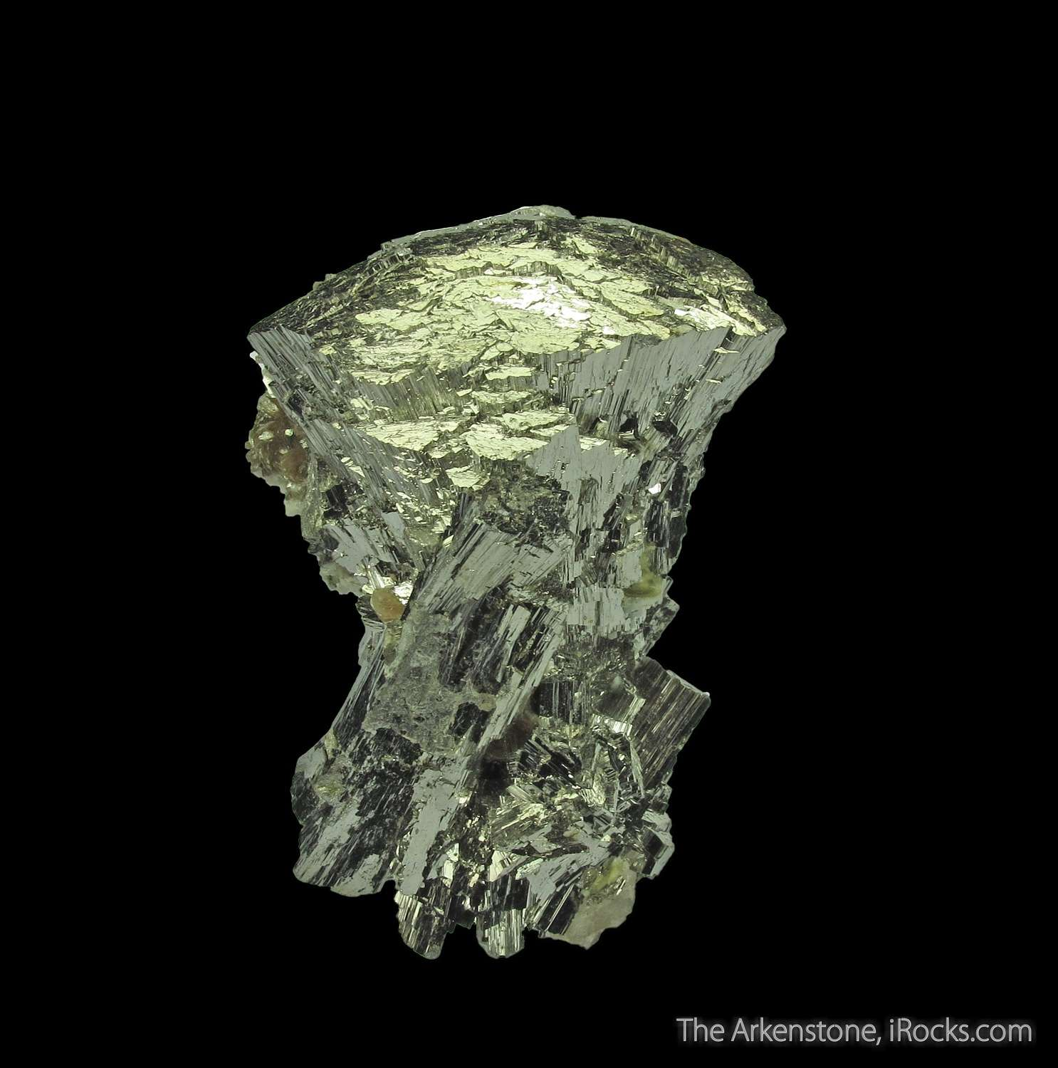 This Arsenopyrite simply stunning miniature leaps superb form