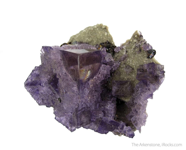 Elmwood renowned great Fluorites Calcites piece fine example locality