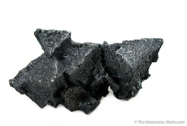 SHARP cluster acanthite The largest crystal 8 cm long