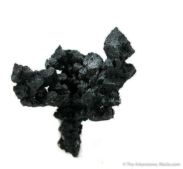 A nice cluster acanthite crystals The largest octahedron measures 75