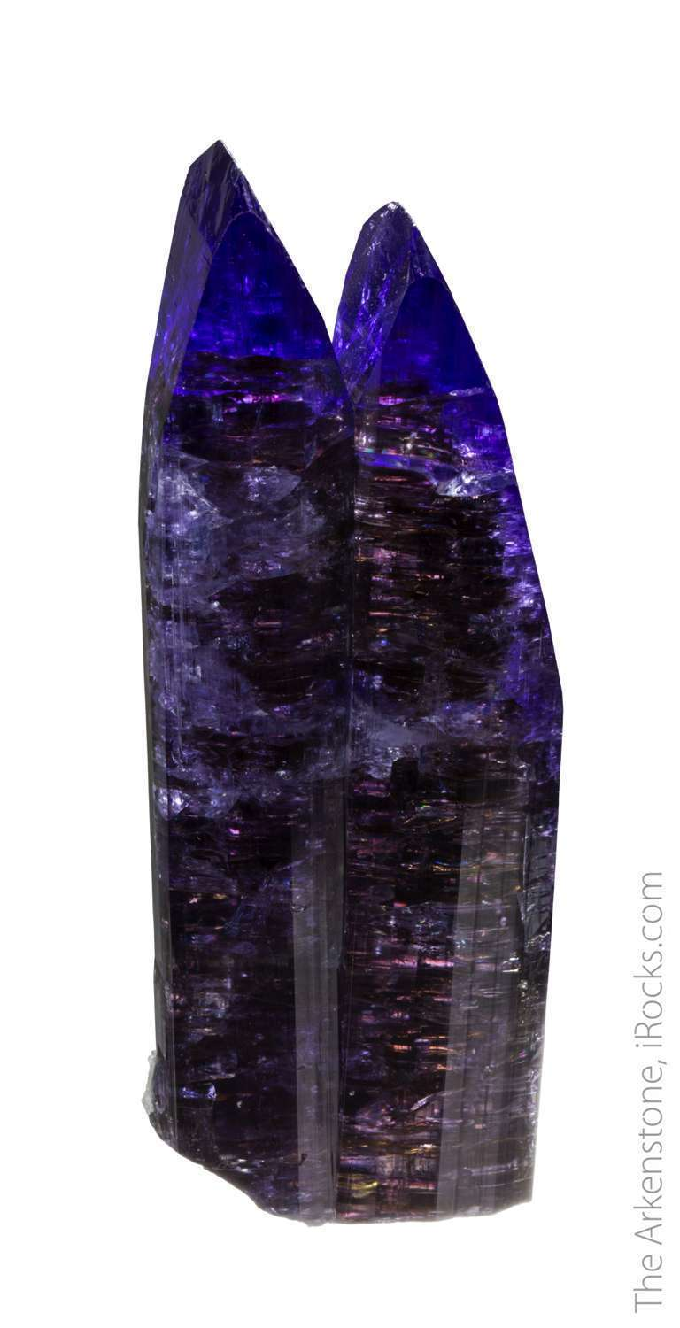 Most tanzanite crystals reasons science geology form singles A double