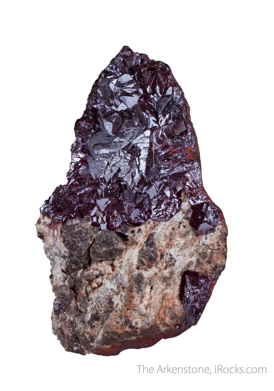 Large flat laying crystals cuprite 1 5 cm make pinnacle knob red atop