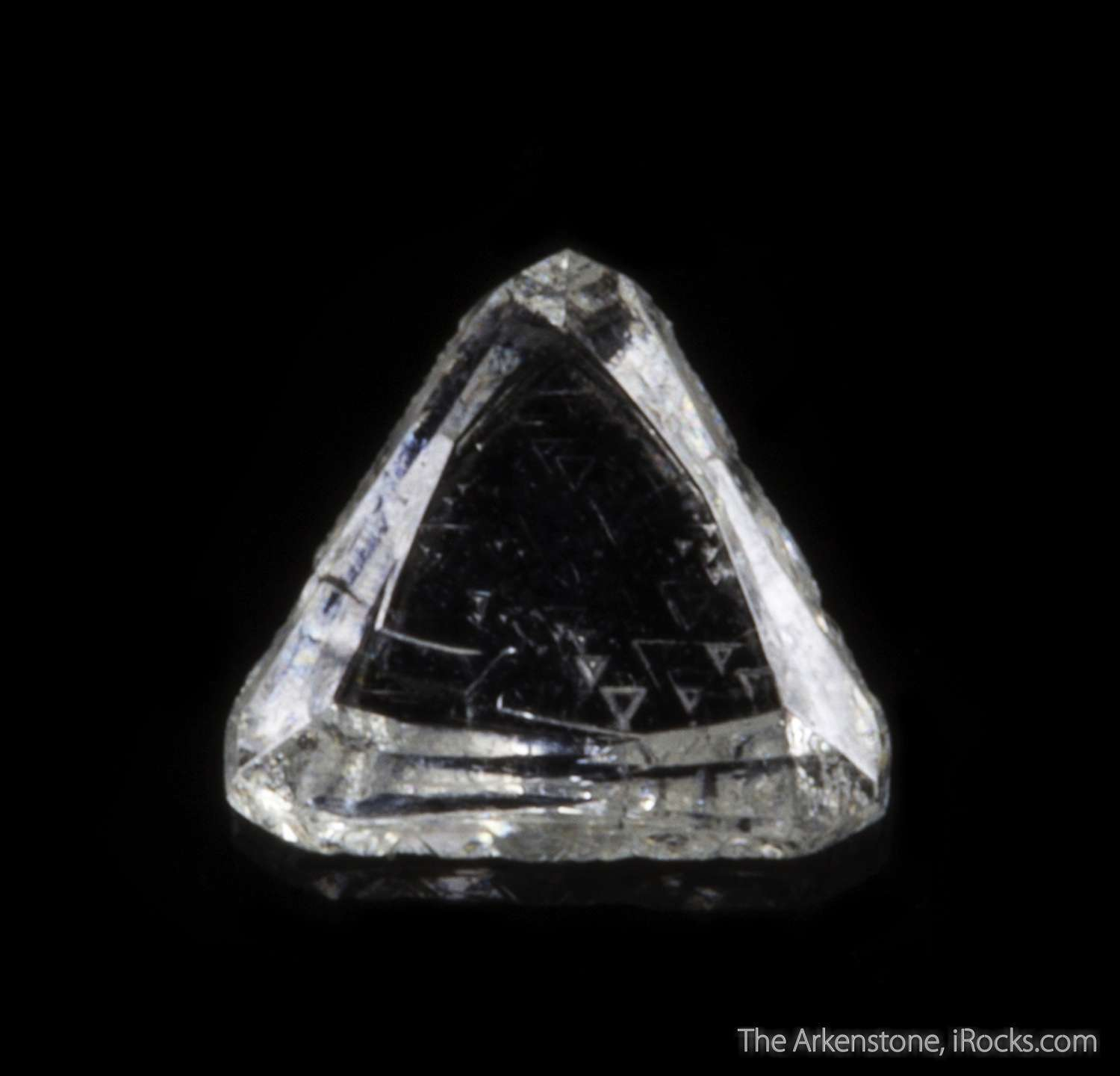 0 63 carats sharp gemmy transparent diamond crystal showing exemplary