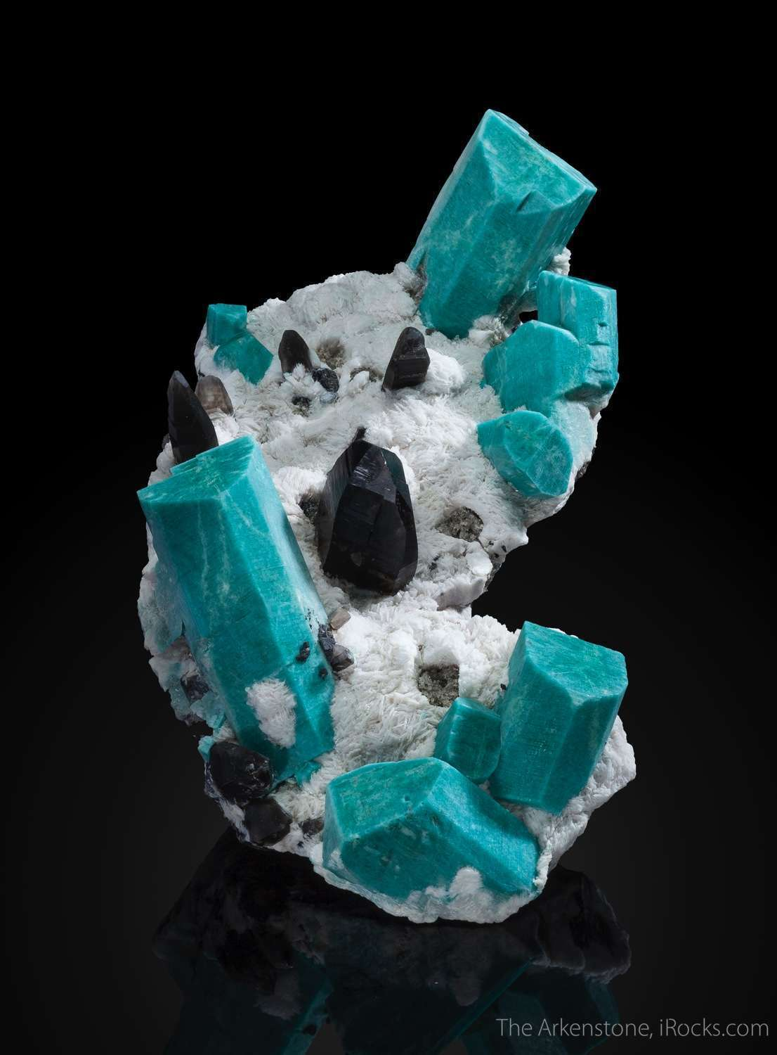 This dramatic large cabinet piece mind future icon American minerals
