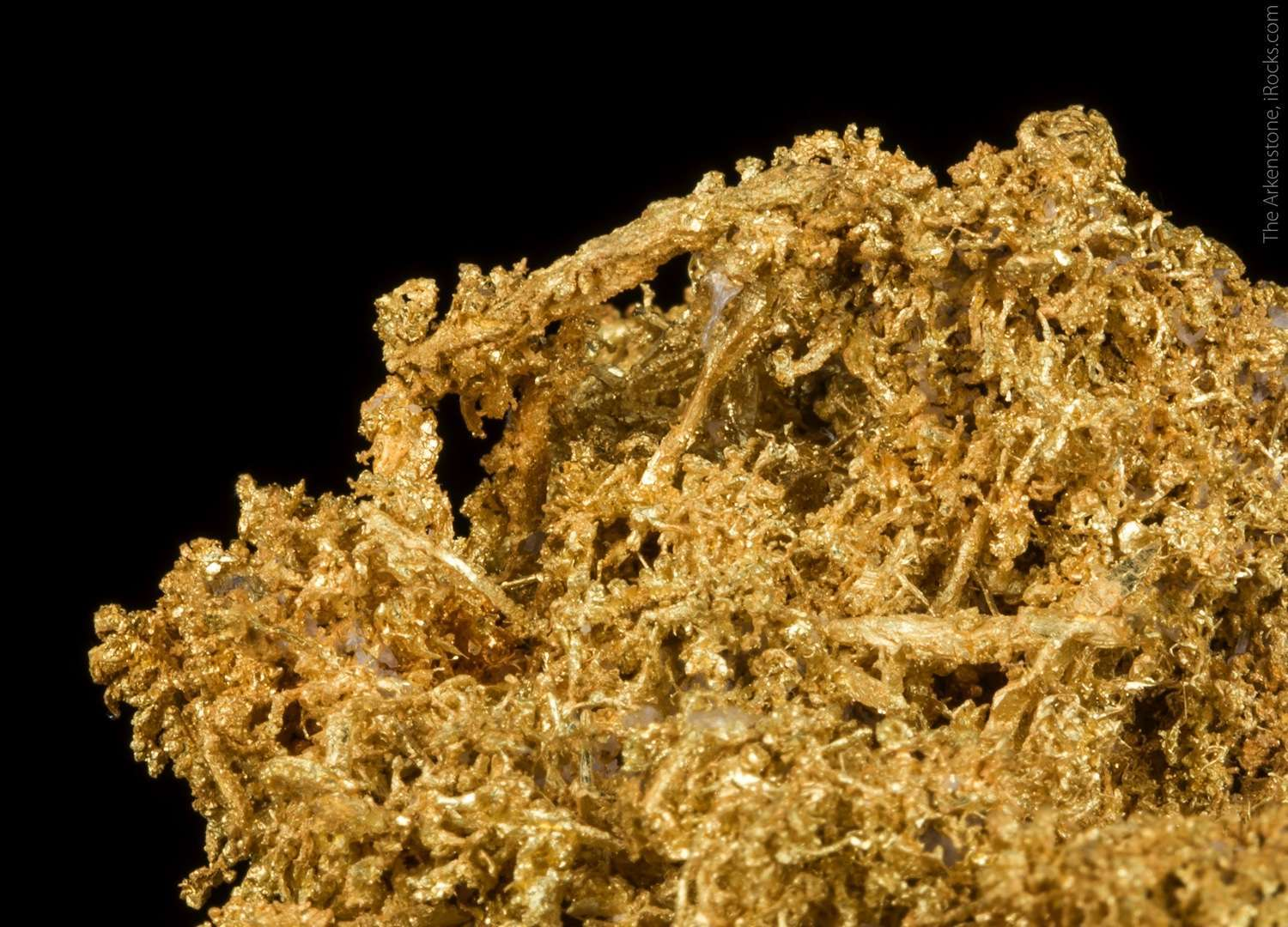 An important United States gold specimen Gold small near Boise quality