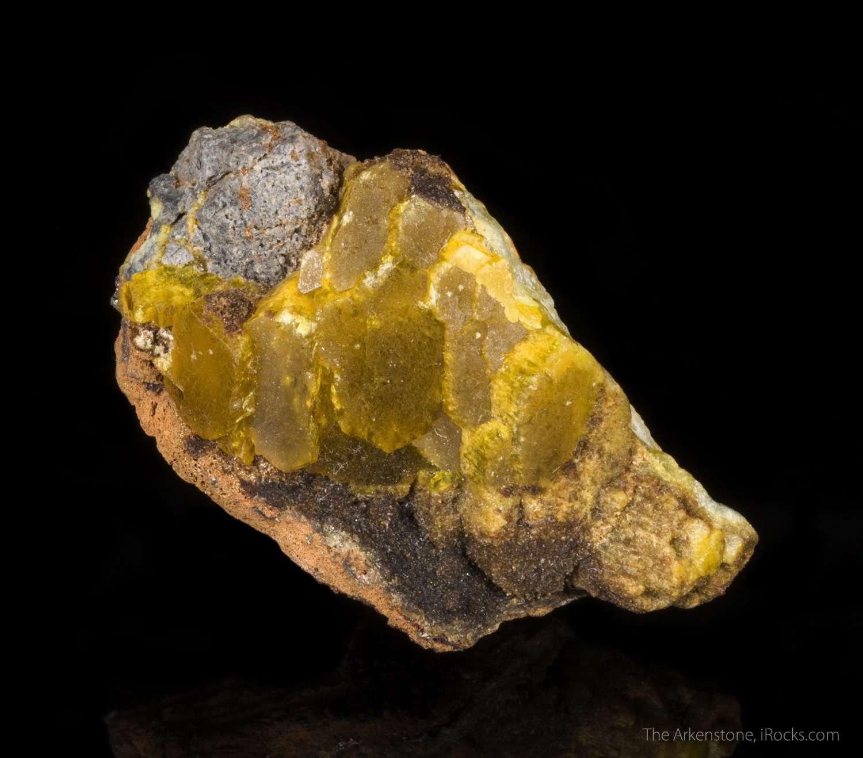 Legrandite Holy Grails beautiful rare mineral species This rare
