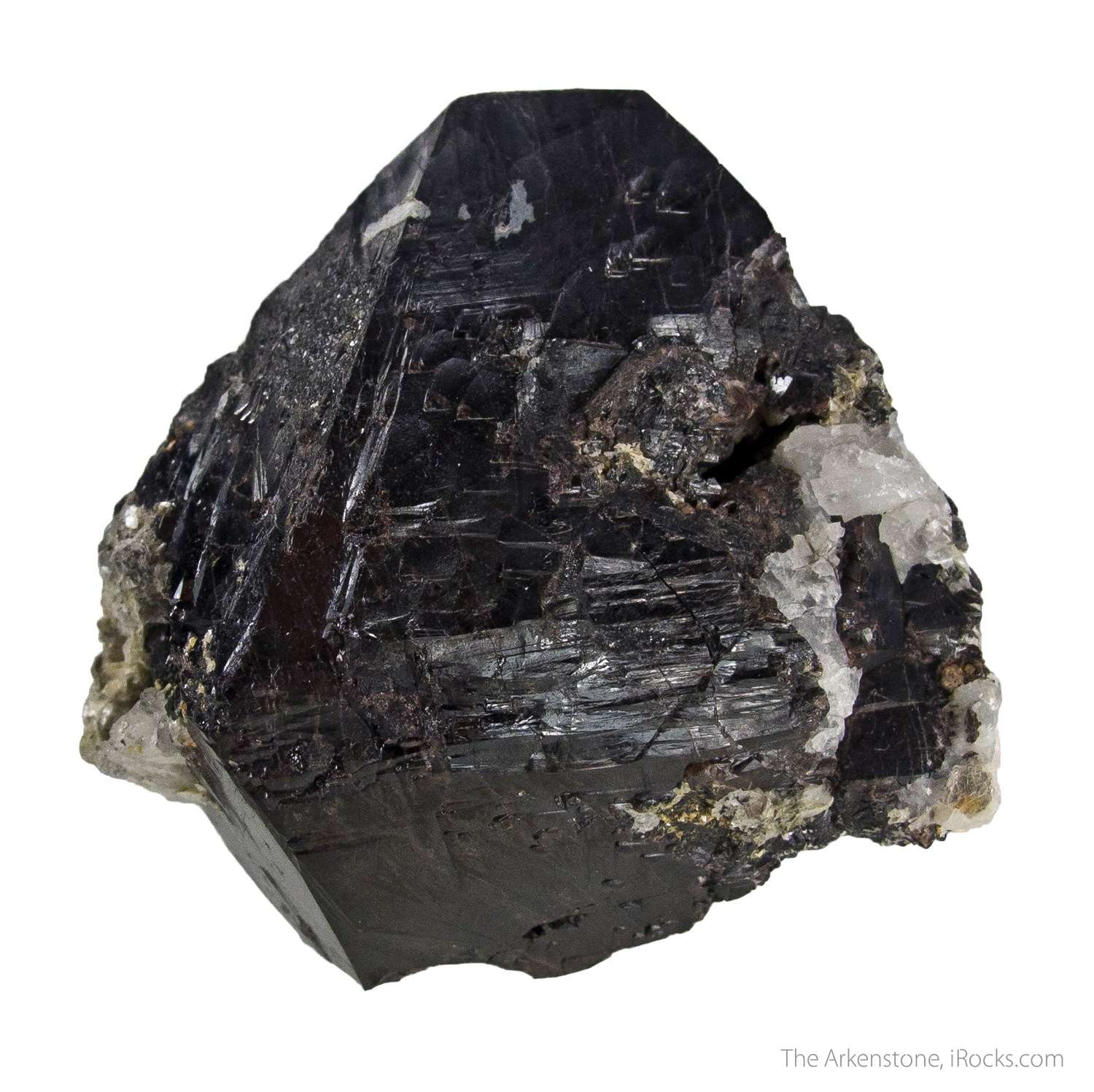 Fantastic cassiterite crystal unexpected locality This remarkable dark