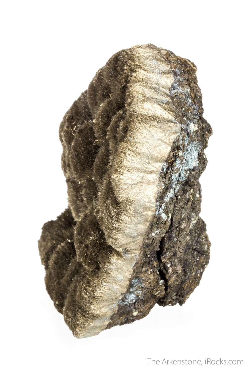 A large exceptionally rich specimen rare nickel mineral millerite